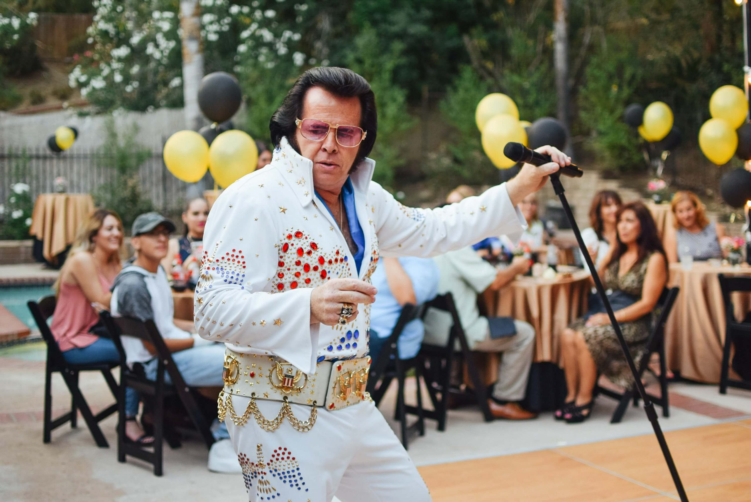 Idée d'anniversaire pour les 50 ans d'un homme Elvis Presley